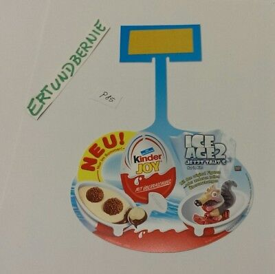 PAH/Regalanhänger: Kinder Joy ICE Age 2 Ferrero, siehe Auktion! Original! P85
