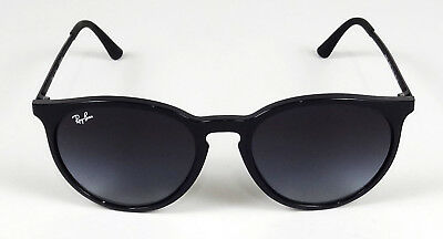 00767ddb726 New Ray-Ban Highstreet Erika Black Round Gray Gradient Sunglasses Rb4274 601  8G