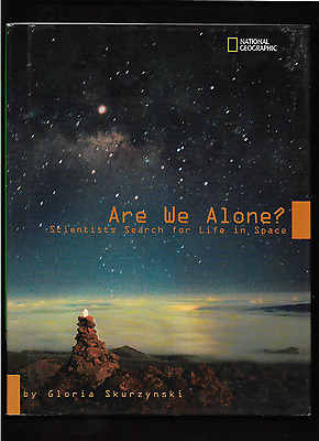 "UFO's "" ARE WE ALONE ? ""   HARD COVER BOOK  GREAT CONDITION W/SLEEVE"