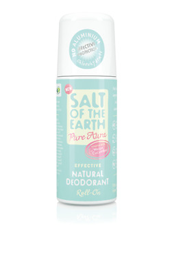 Salt of the Earth Pure Aura Natural Deodorant Roll-On Melon & Cucumber (75ml)