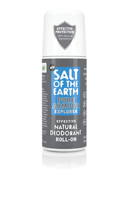 Salt of The Earth Pure Armour Explorer for Men Roll-On Deodorant (75ml)
