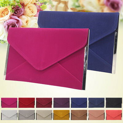 Evening Handbag Clutch Wedding Cocktail Party Bag Metallic Envelope Wallet Purse