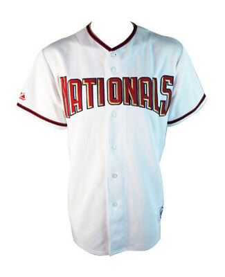 Majestic MLB Washington Nationals Replica Baseball Jersey - Youth M