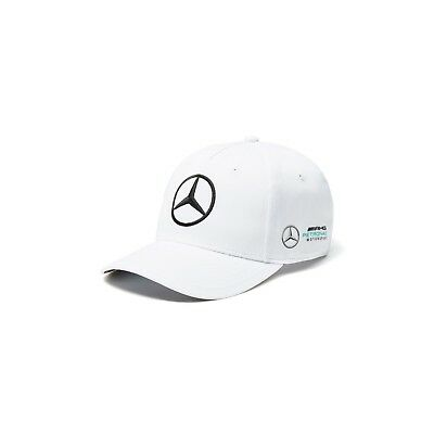 2018 Mercedes AMG Petronas F1 Adults Team Baseball Cap Hat WHITE – New OFFICIAL