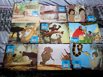 Walt Disney Le Livre De La Jungle 9 Photos B Eur 20 00