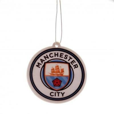 MANCHESTER CITY Car Air Freshener - Licensed Official Merchandise Free Postage