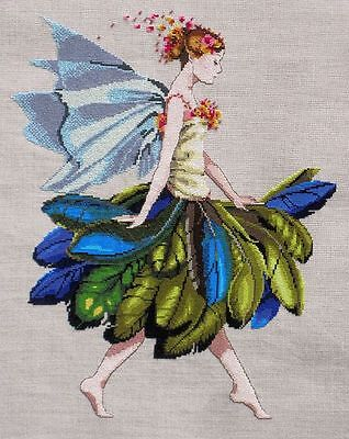 The Feather Fairy  - Cross Stitch Chart - FREE POST