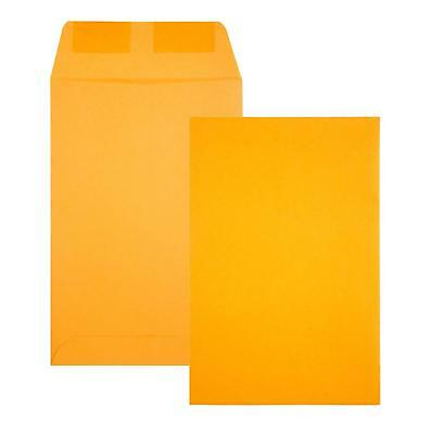 Quality Park Brown Kraft Catalog Envelope, 6 x 9 inches, Box of 500 (40760)