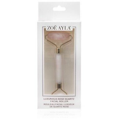 $89.99 Zoë Ayla Luxurious Rose Quartz Facial Roller