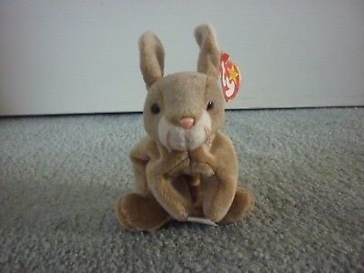 Ty Beanie Baby Nibbly The Rabbit Born May 7 1998