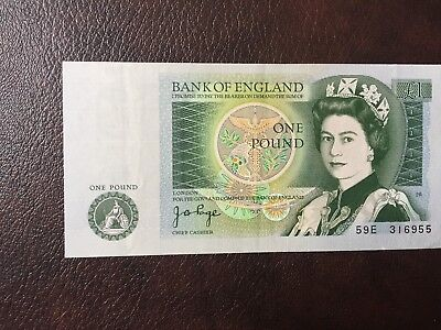 Great Britain (Bank of England) 1978-80 1 Pound Note Circulated