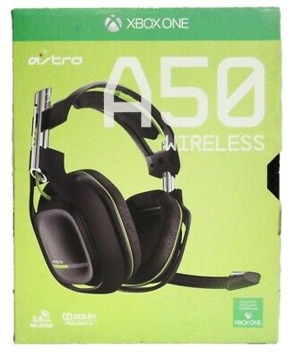 Astro A50 Wireless XBOX One Video Gaming Headset Pro Quality Audio EQ JHS49