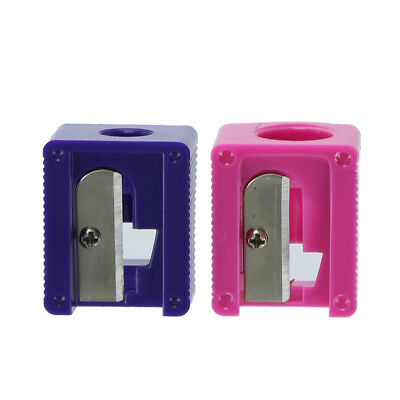 Pretty Dual Pencil Sharpener with Two Sizes and Shaving Collector