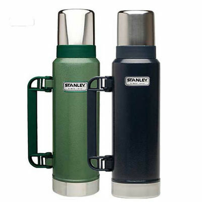 1.3 L Stanley Flask Stainless Steel Vacuum Bottle Classic Thermos Hot Drinks
