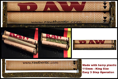 Joint Roller Machine Size 110mm Rolling Cigarette Weed Raw King Blunt Fast Cigar