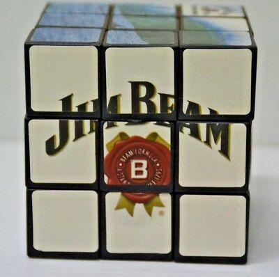 Jim Beam Bourbon Official Merchandise Series 2 New Puzzle Beamix Game Cube