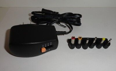 GE Universal AC Adapter and Battery Eliminator Up to 300 mA