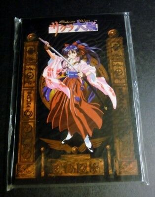 Sakura Wars 10 Postcards Book printed in Japan 1996 Animation