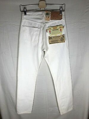 Vintage NWT Levi's 501 Jeans 27 X 32 1993 Made in USA