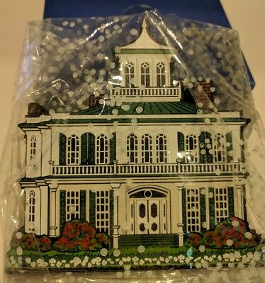 House of The Seasons Historic Home Jefferson Texas wood collectible