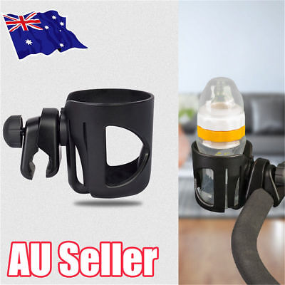 Baby Stroller Pram Cup Holder Universal Bottle Drink Water Coffee Bike Bag NW