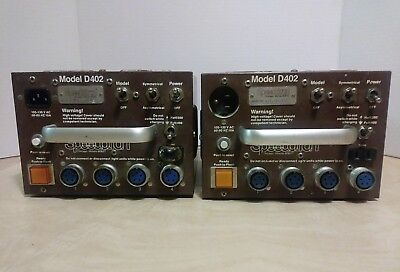 2 - Speedotron Model D402 Brownline Power Supply - NOT TESTED AS IS