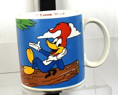 Vintage Three Cheers from Applause Woody Woodpecker I Love You Mug