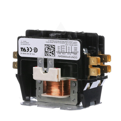 Replacement for Goodman Double Pole / 2 30 Amp Condenser Contactor CONT2P030024V