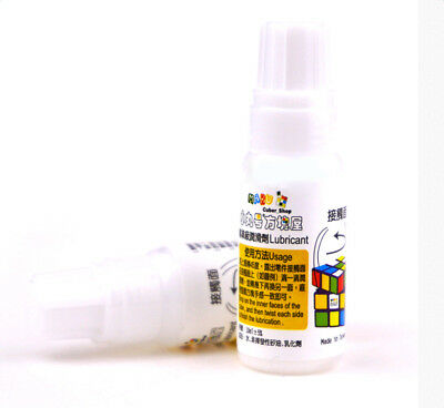 1*10ml Lubricant Lubricating Oil For Magic Cube Puzzle The Best Lube Available