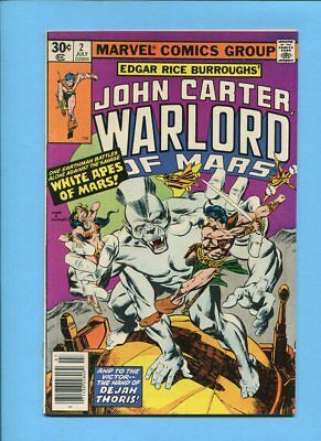 John Carter Warlord of Mars #2 Marvel Comics July 1977 Gil Kane Rudy Nebres
