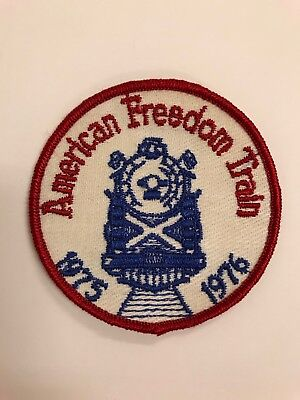 ☆American Freedom Train Patch☆ This One Was Produced For Restoration Staff Only