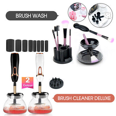 2019 New Electric Makeup Brush Cleaner And Dryer Set Includes Brush Collar Stand
