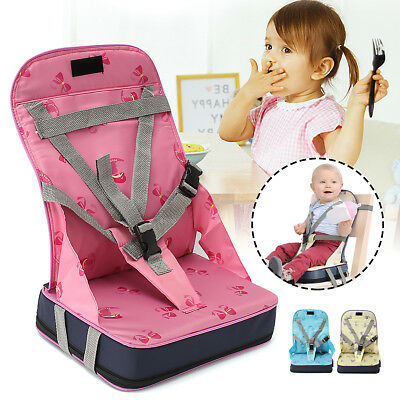 dc69e401b2ea Portable Baby Travel High Chair Dining Feeding Chair Foldable Kids Booster  Seat