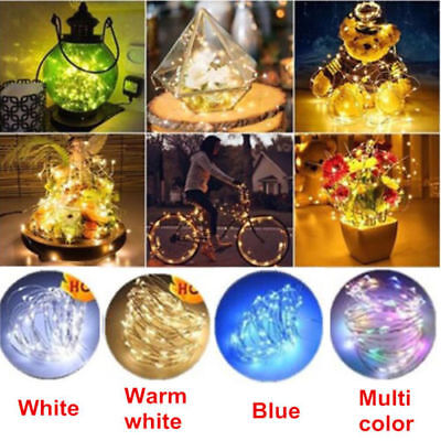 10-20 LED Cork Shaped Night Light Starry Lights Wine Bottle Lamp Wedding Party