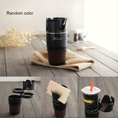 Automobile Sunglasses Drink Cup Holder Car Organizer Interior Storage Barrel