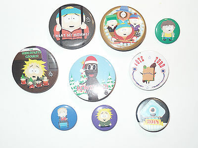 South Park Button Lot of 9