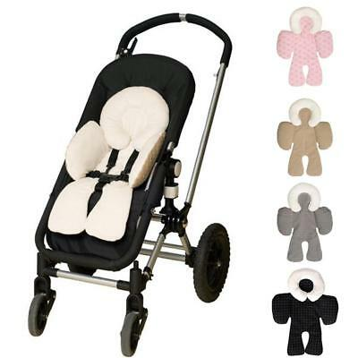 Baby Car Seat Stroller Soft Cushion Liner Pad Head Body Support Pillow Cushion