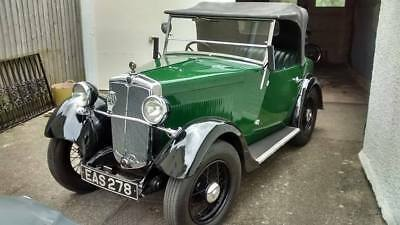 1933 Morris Minor Tourer : 2 Seater in Moss Green FURTHER REDUCED