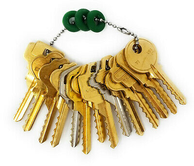15 Residential Depth Key Set with Bump Rings