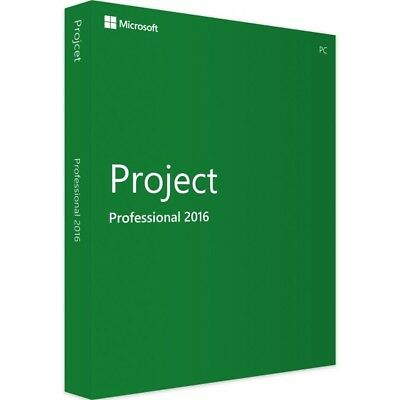 Microsoft Project Professional 2016 - New - Full Version - Download