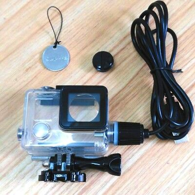 Waterproof Housing Shell USB Charging Shockproof  For GoPro Hero 4 3+ Camera
