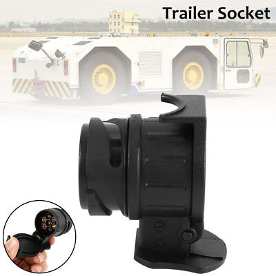 13 to 7 Pin Adaptor Trailer Truck Electric Towing Converter Tow Bar Socket New