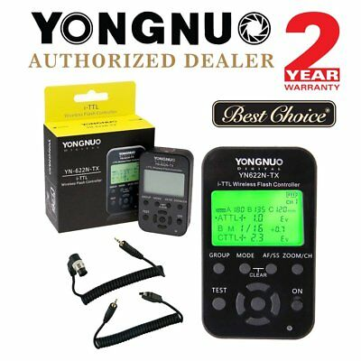 Yongnuo YN622N-TX Wireless TTL Flash Trigger Controller for Nikon YN685 UK