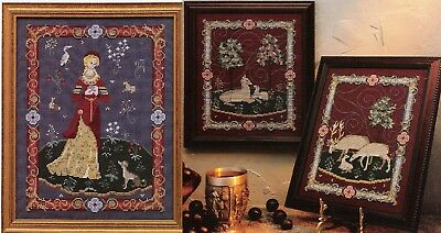 Medieval Tapestries - Lady & Deer - Cross Stitch Chart Free Postage