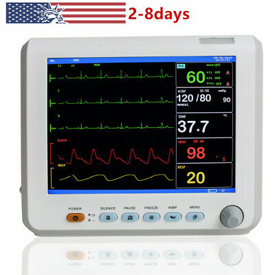 Portable ICU Patient Monitor 8 Inch Vital Signs Monitor 6 Parameters,CE&FDA