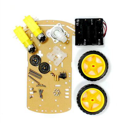 2WD Car DIY Kit For Arduino Motor Smart Robot Car Chassis Suite 2Wheel Speed 2WD