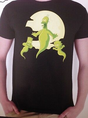 T-shirt THE SIMPSONS HORROR SHOW (M - neuf)