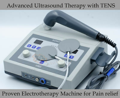 New 1 Mhz Ultrasonic Massage Tens Machine Ultrasound Therapy Pain Relief N31