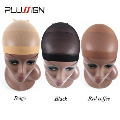 Deluxe Wig Cap Hair Net For Weave 2 Pieces/Pack Hair Wig Nets Stretch Mesh Wig C