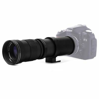 420-800mm F/8.3-16 Super Telephoto Lens Manual Zoom Lens for Canon Nikon Sony Pe